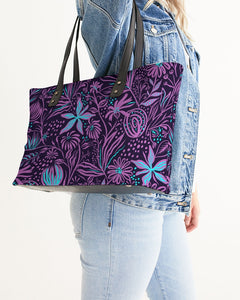 EMPRESS Jazzy stamping purple Stylish Tote