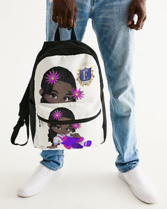 EMPRESS CARTOOON Small Canvas Backpack