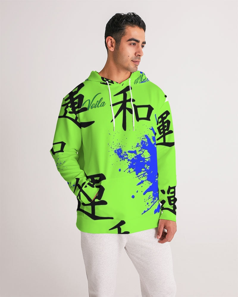 VOILA PEACE ND LUCK Men's Hoodie
