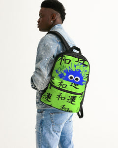VOILA PEACE ND LUCK Small Canvas Backpack