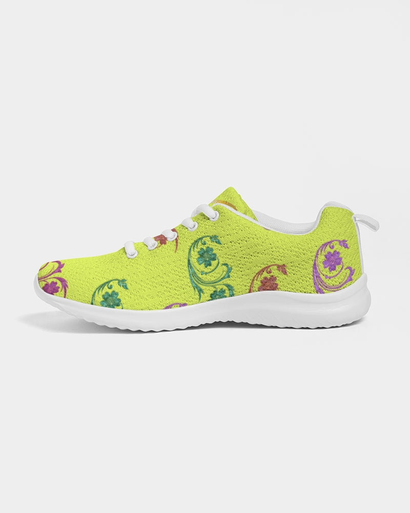 VOILA YELLOW lime tights Women's Athletic Shoe