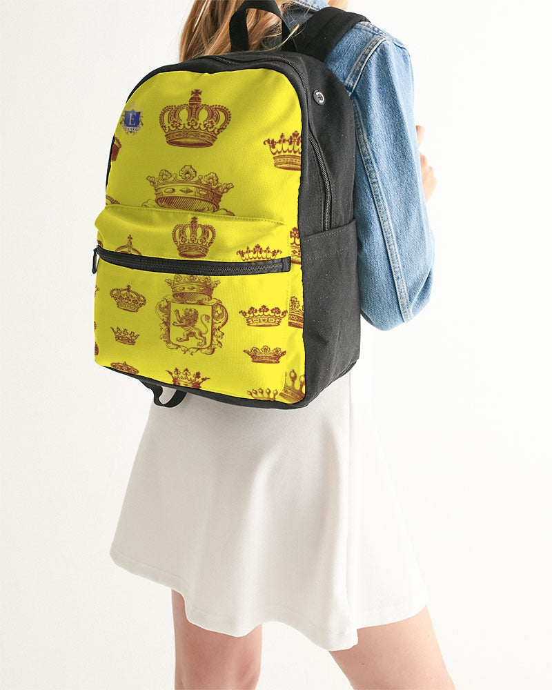 EMPRESS CHESS Small Canvas Backpack