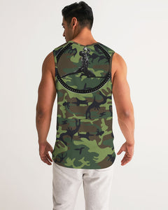 LIBERATION green fatigue Men's Sports Tank