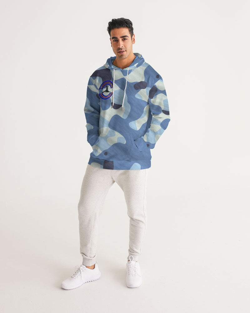 LIBERATION powder blue fatigue Men's Hoodie