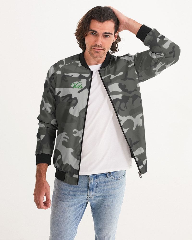 voila grey fatigue Men's Bomber Jacket
