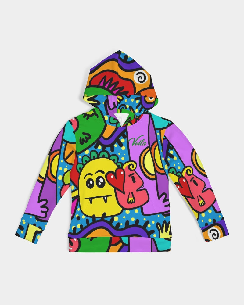 VOILA LOVING MONSTERS Kids Hoodie