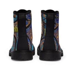 LIBERATION Men's Canvas Boots