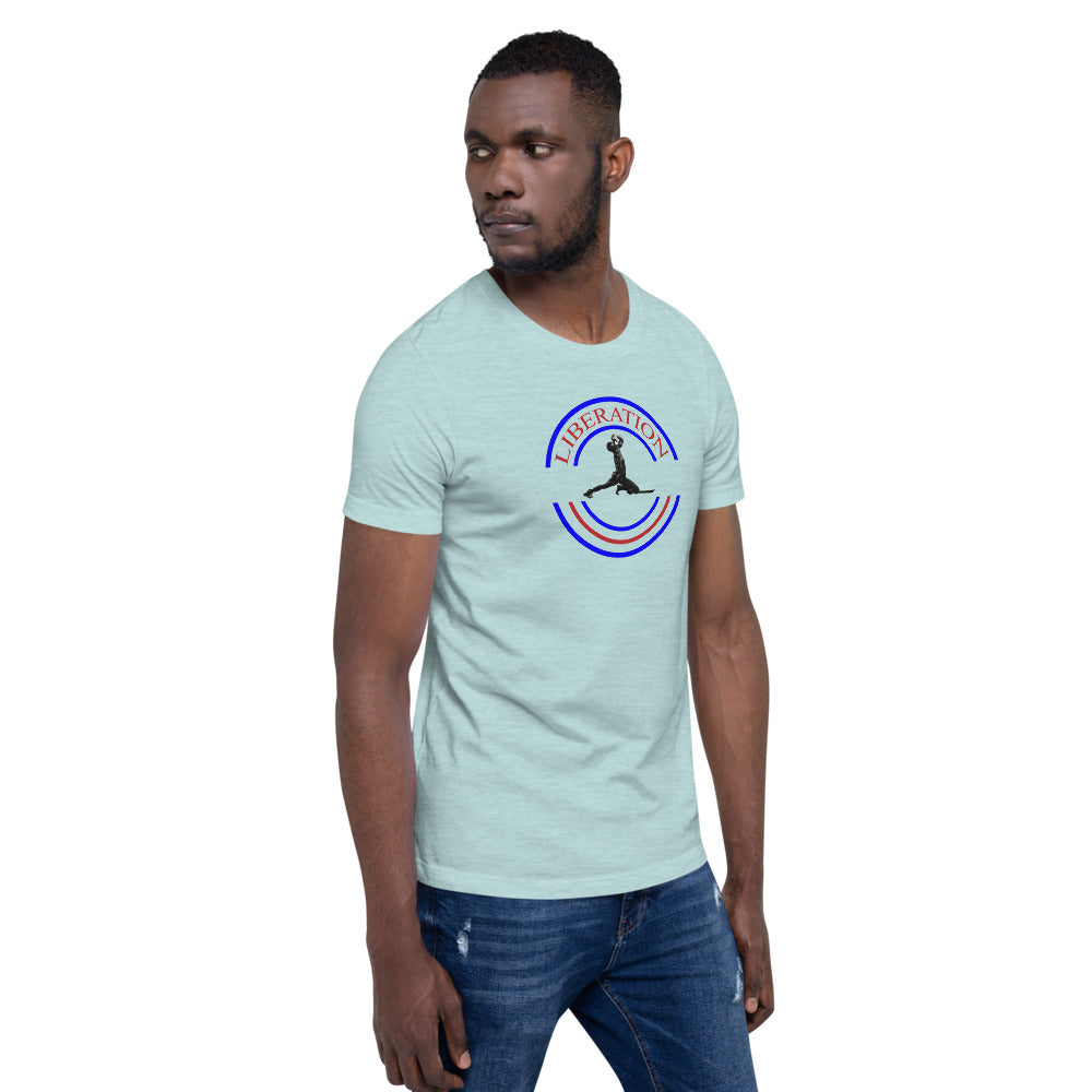 LIBERATION Short-Sleeve Unisex T-Shirt
