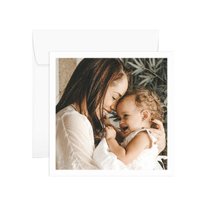 Personalised Mother's Day Card - Photo