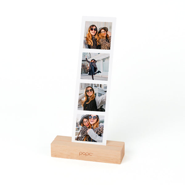 Wooden Polaroid & Photo Strip Holder