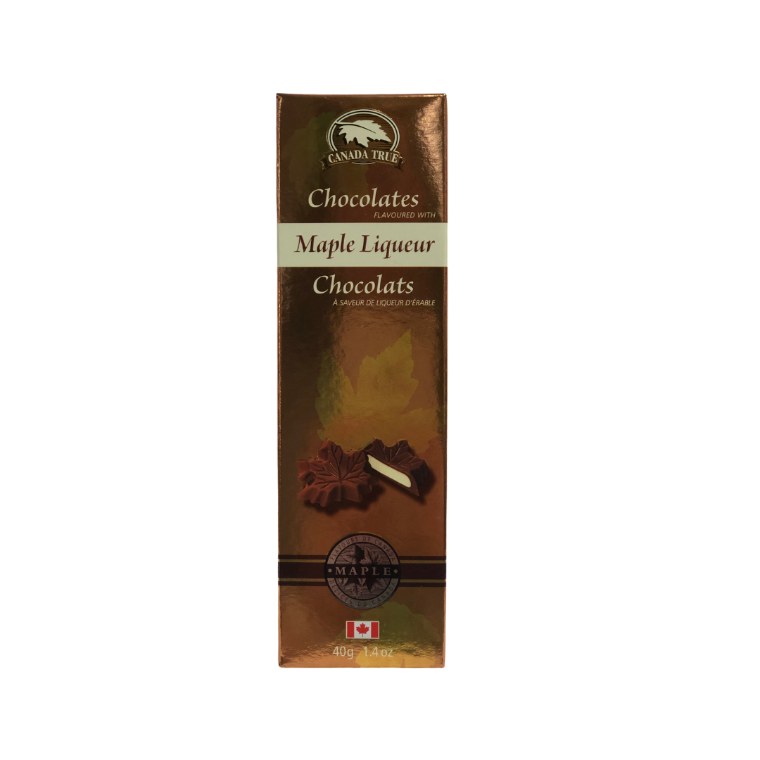 Maple Liqueur Chocolate - 40g