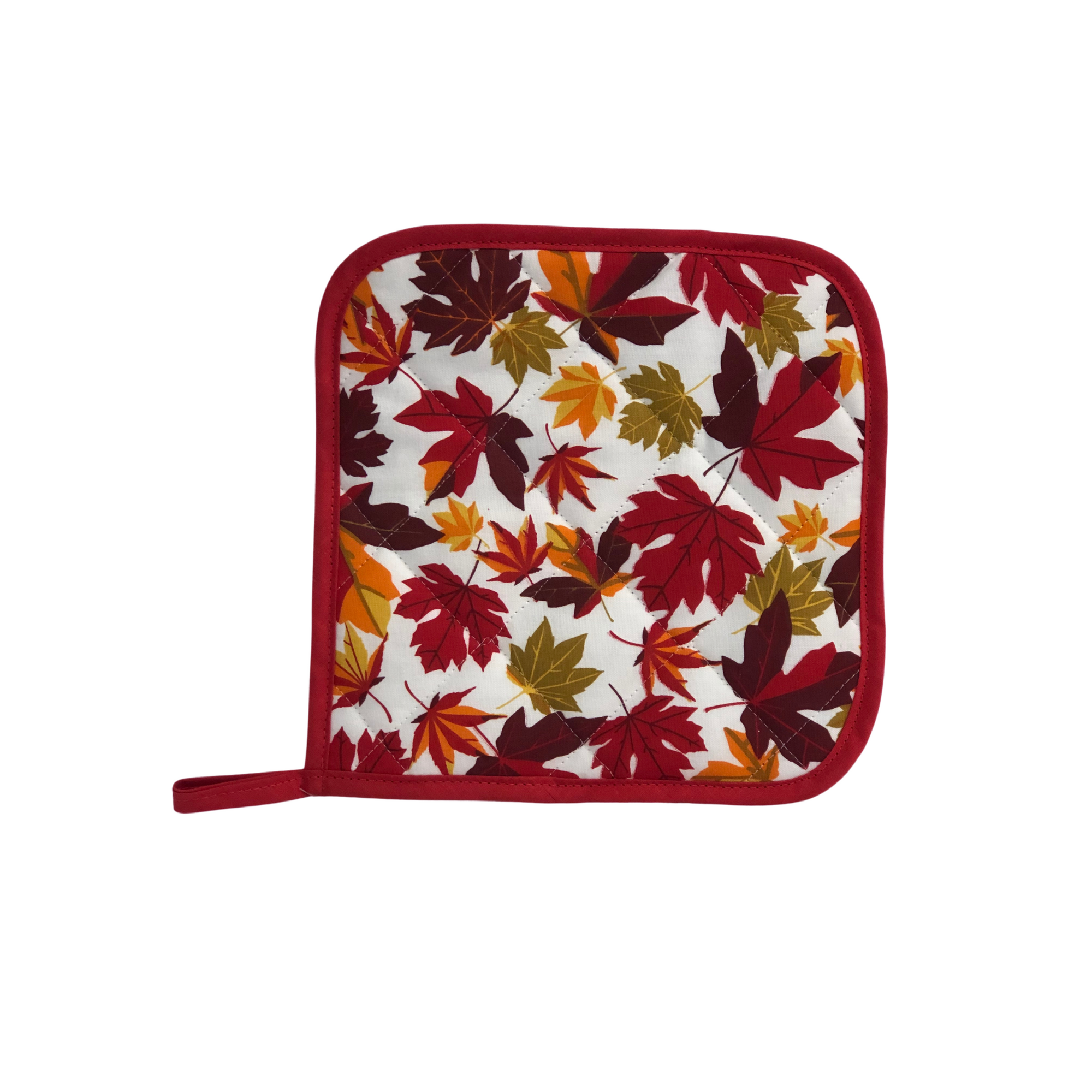 Pot Holder - Maple Leaf