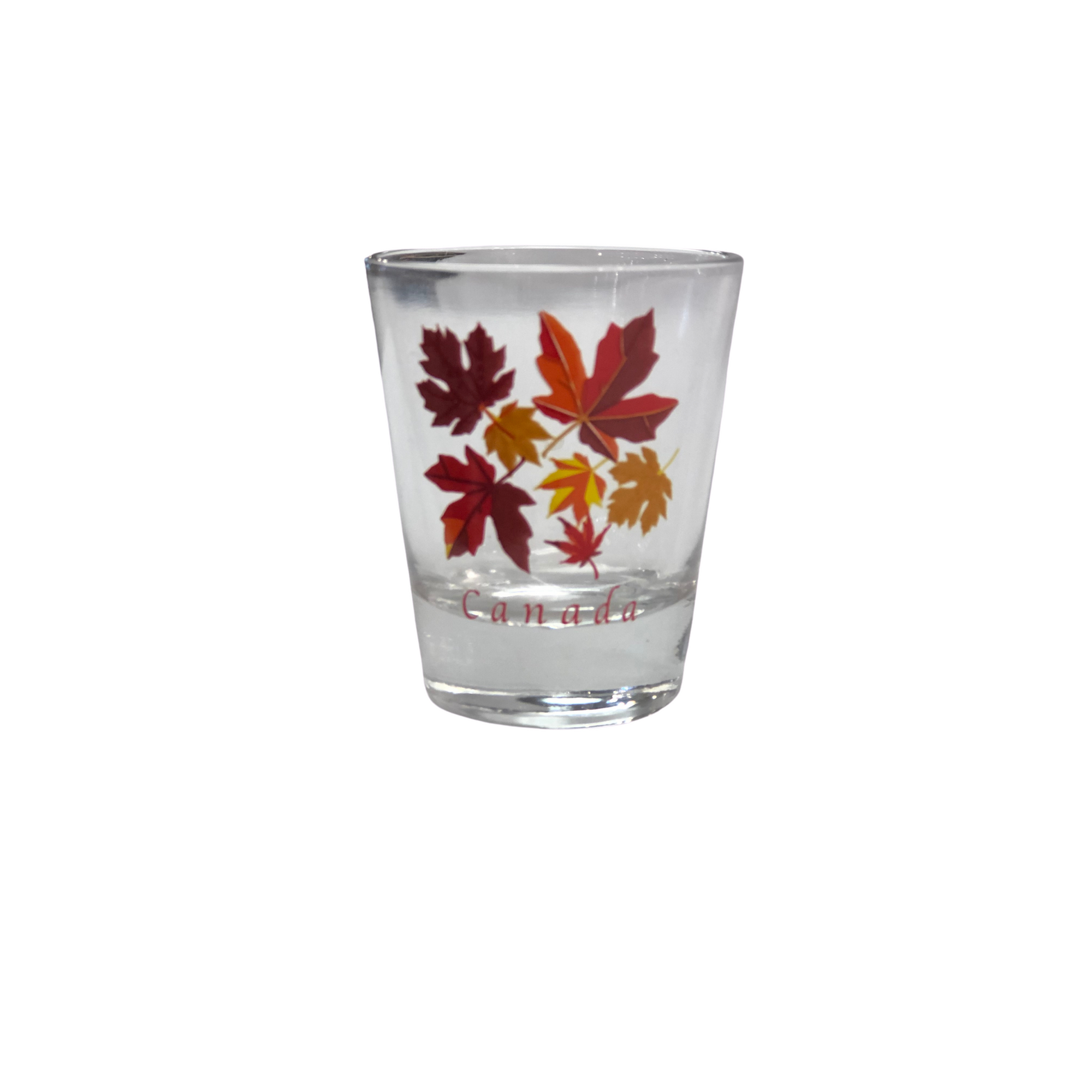 Shotglass - Maple Leaf