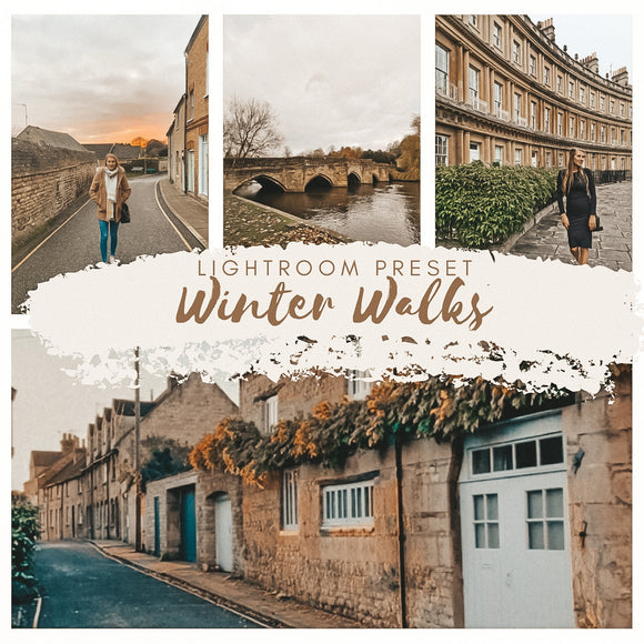 Autumn Winter Lightroom Presets