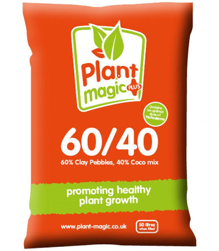 Plant Magic 60/40 coco with added trichoderma