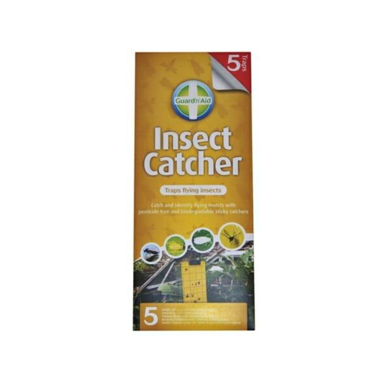 5 pack Insect Catchers  - Fly Gnat Pest Sticky Strips