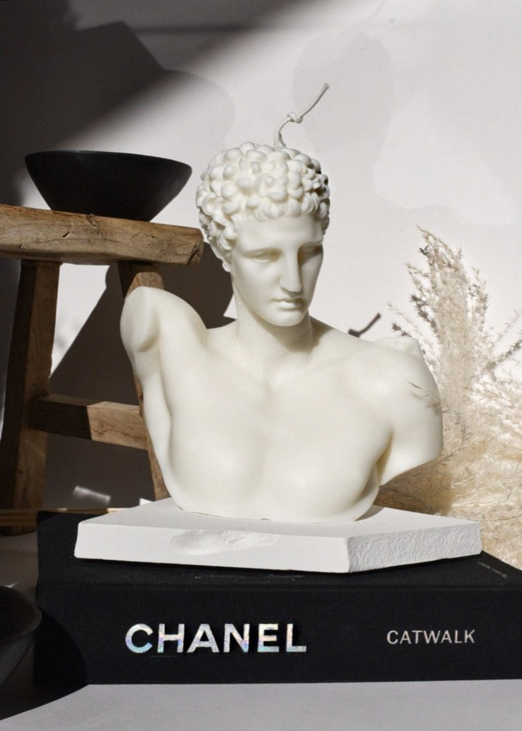 Hermes Sculpture Candle - (Extra Large 23cm)