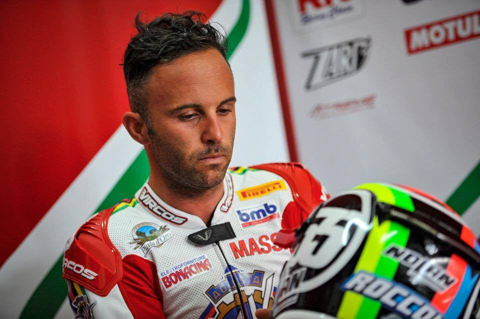 Motorrad: SuperSport Champion Massimo Roccoli ROLLs