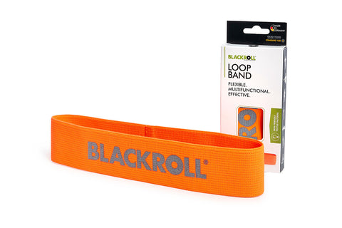blackroll loop band orange trainingsband