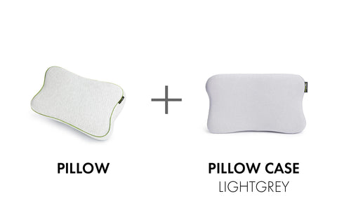 BLACKROLL® PILLOW/CASE LIGHTGREY SET