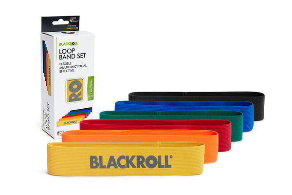 BLACKROLL® LOOP BAND SET 6ER - FITNESSBÄNDER SET