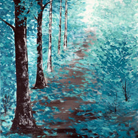 Blue Path - Deena Kruger Original