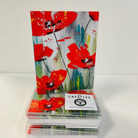 Poppies Card Pack
