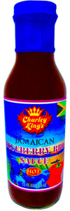Jamaican Blueberry BBQ Sauce Hot