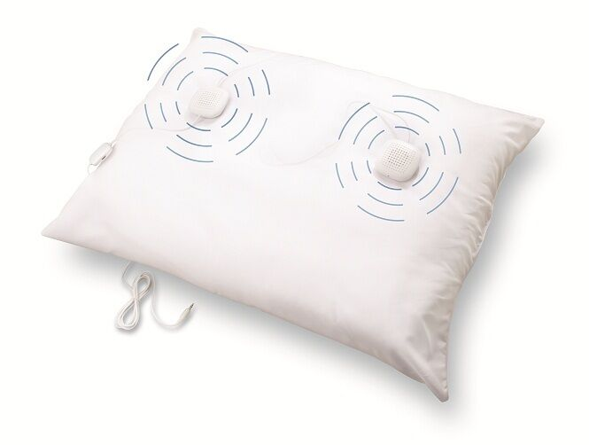 Sound Oasis SP-101 Sleep Therapy Pillow Speakers With In-live Volume Control