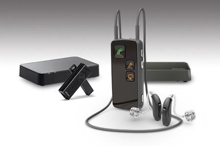 Full Oticon Connectline system including New Microphone