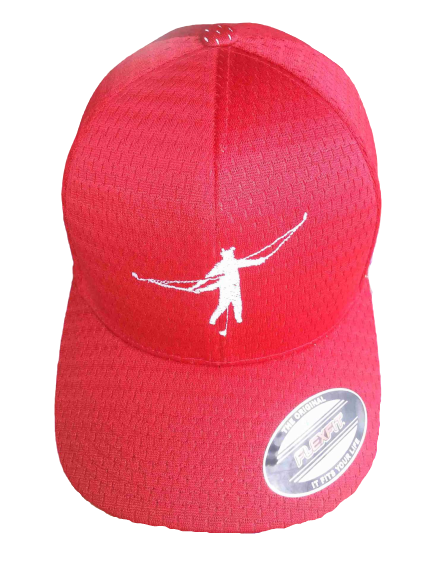 Red Golf-Aid Cap
