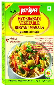 Priya Hyderabadi Vegetable Biryani Masala