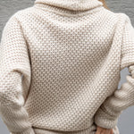 Knitted wool sweater