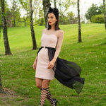 Two piece floss dress