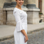 White summer dress