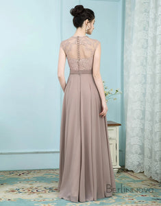 Elegant Sleeveless Champagne Mother of The Bride Dress