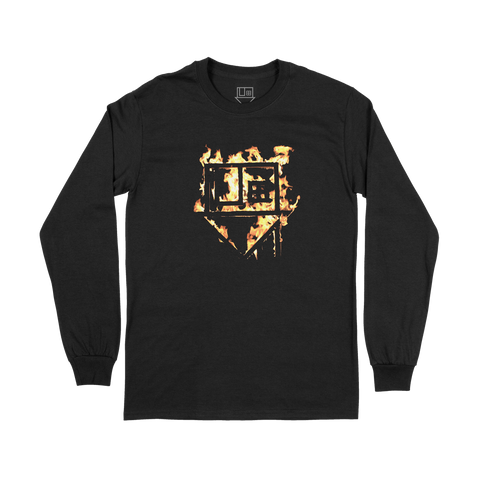 THE NBHD - BURNING HOUSE LONGSLEEVE