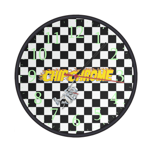 SOLD OUT: Chip Chrome - Wall Clock
