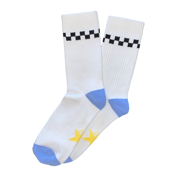 Chip Chrome - Checkerboard Socks
