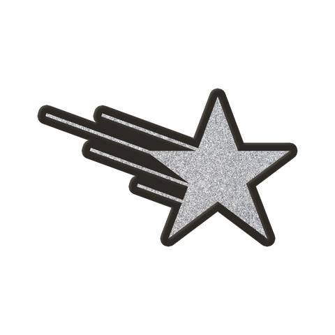 PRE-ORDER: Chip Chrome - Shooting Star Pin