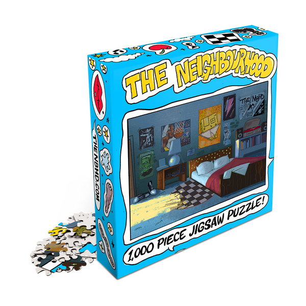 PRE-ORDER: Chip Chrome - Chip's Room - 1000pc Jigsaw Puzzle