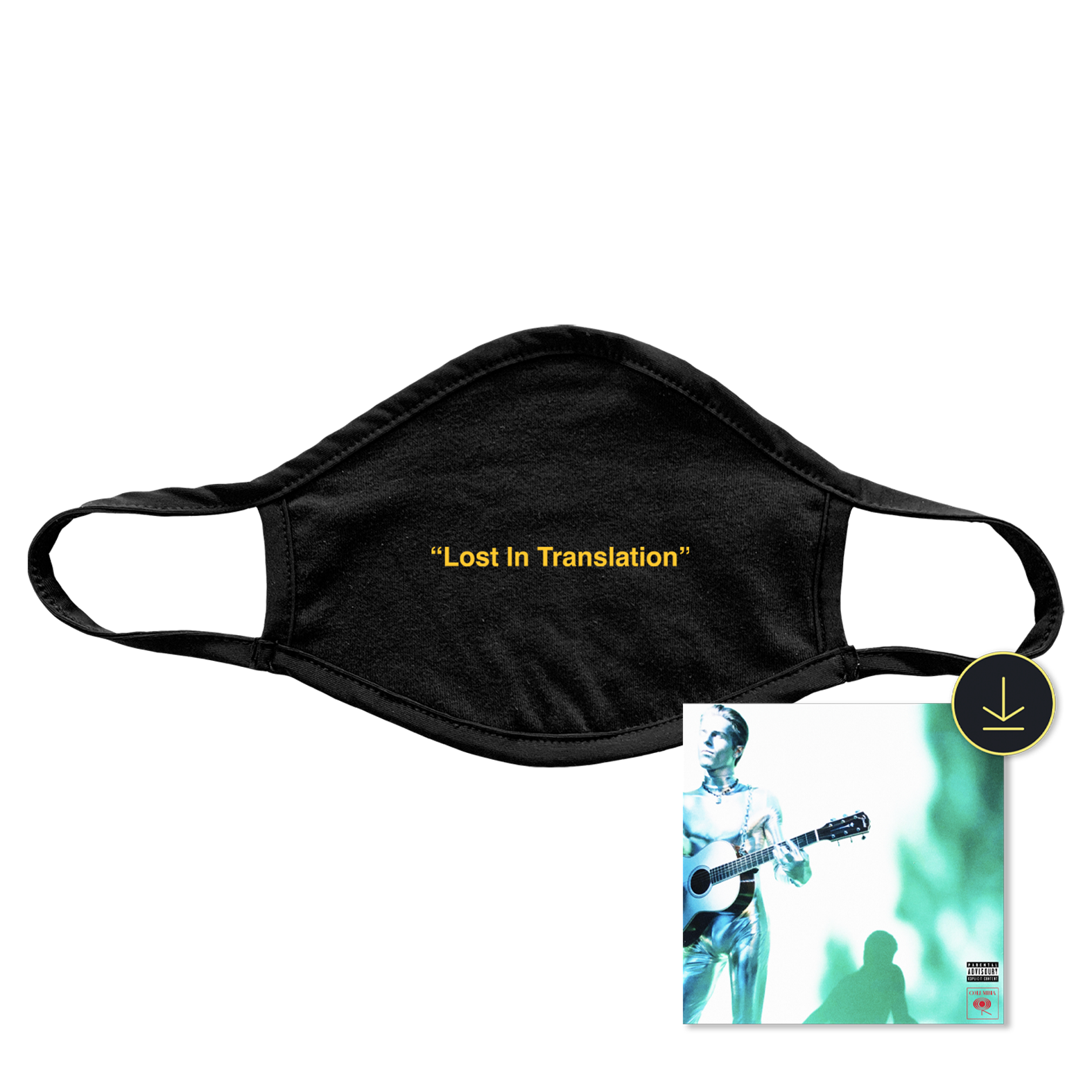 Lost In Translation Recycled Facemask + Digital Album