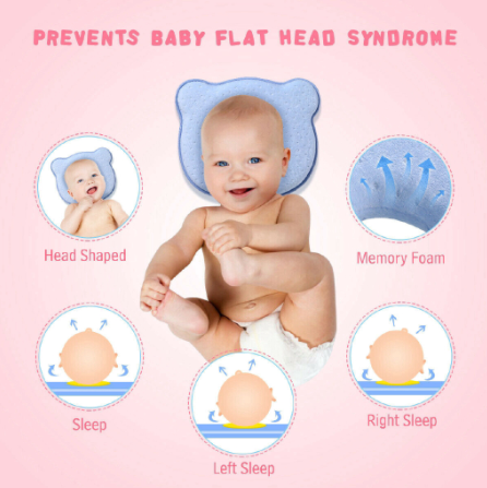 Baby Pillow Newborns Memory Foam
