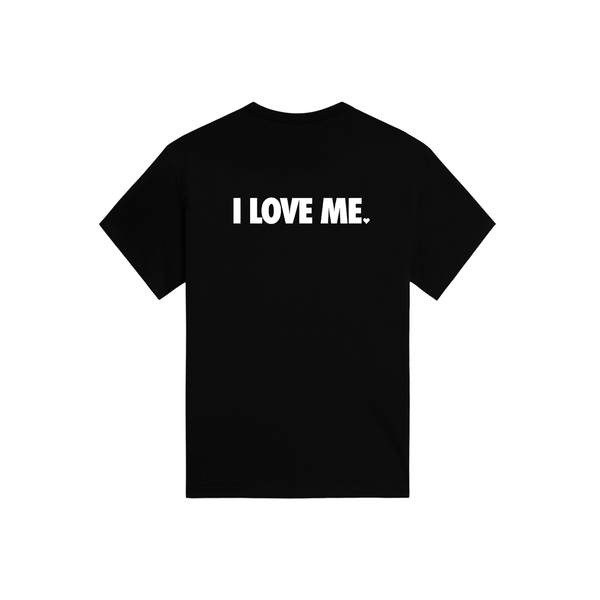 TODDLER I LOVE ME TSHIRT - BLACK