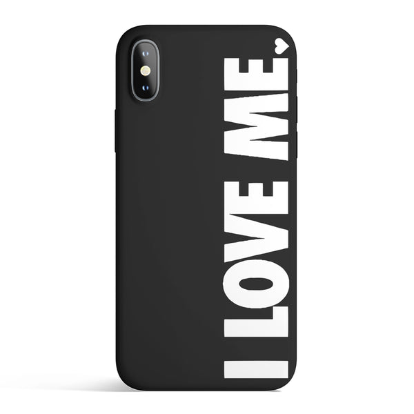 I LOVE ME. IPHONE CASE