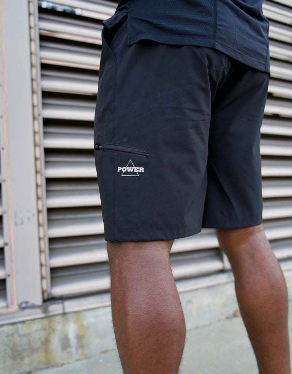 MOTIV8 WEIGHTLESS WORKOUT SHORTS - BLACK