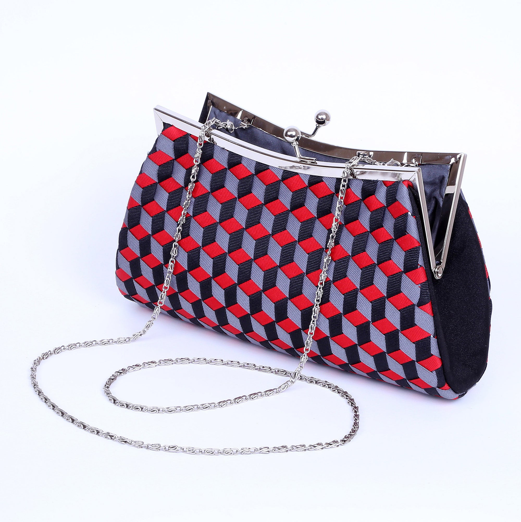 Ribbon Evening purse / REV-1