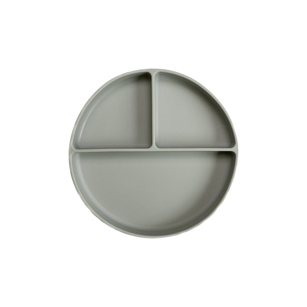 Light Grey Divided Silicone Plate