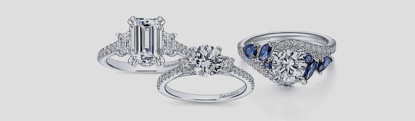 Shop Three-Stone Engagement Rings
