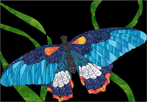 Butterflies Applique Quilt Patterns